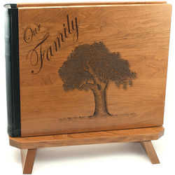 Hardwood 3-Ring Scrapbook