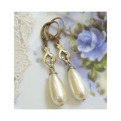 Bridal Elegance Drop Earrings