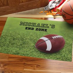 Personalized Touchdown Football Doormat