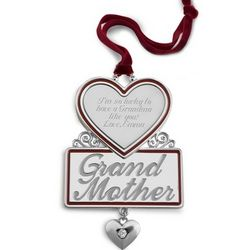 Grandmother 2D Christmas Ornament