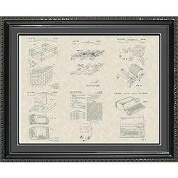 Computer and Technology Framed Patent Art