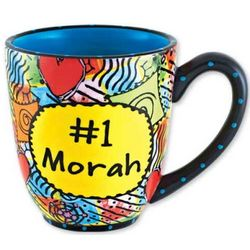 "#1 Morah ""Teacher"" Ceramic Coffee Mug"