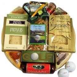 Golfer's Favorite Snacks Gift Basket