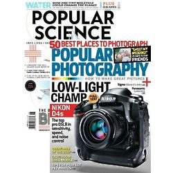 Popular Science and Popular Photography 12 Magazines Each