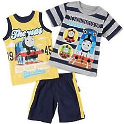 Thomas the Train Boys Toddler True Blue Short Set