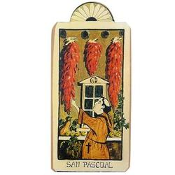 San Pasqual - Patron Saint of Kitchens Retablo Plaque