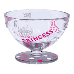 Princess Hand-Painted Ice Cream Sundae Bowl