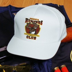 Personalized Hunter's Club Hat