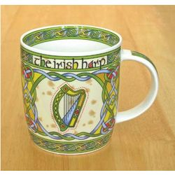 Irish Harp China Coffee Mug