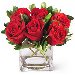 Lush Life Red Roses Bouquet