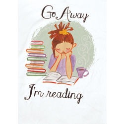 Go Away I'm Reading Sleepshirt