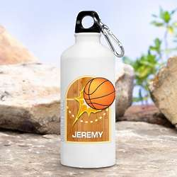 Personalized Kid's Basketball Water Bottle