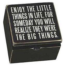 Enjoy the Little Things Box