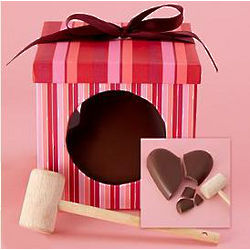 Chocolate Heart and Mallet Heartbreaker Gift Box
