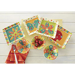 Spring Brights Plates