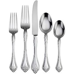 Boutonniere 45 Piece Flatware Set