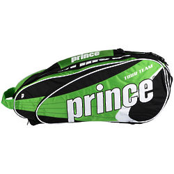 Green Team 6 Pack Tennis Bag
