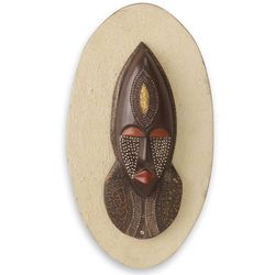 Wife of the Chief African Mask Plaque