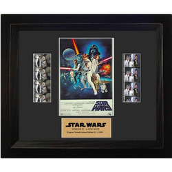 Star Wars A New Hope Limited Edition Double Film Cell