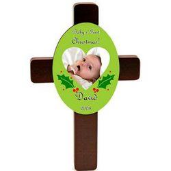 Baby's First Christmas Keepsake Cross
