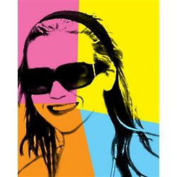 Warhol Style Print from Your Photo