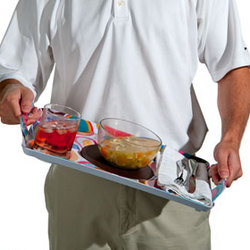 Non-Slip Dinner Tray