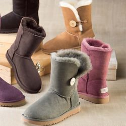 Bailey Button Shearling Boot