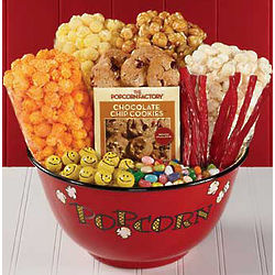 Movie Night Popcorn Bowl