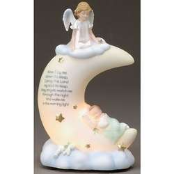Lullaby Prayer Figurine Statue Night Light