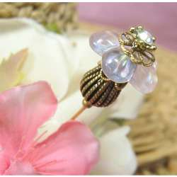 Fancy Flower Hat Pin