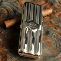 Silver-plated Cigar Holder
