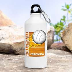 Personalized Kid's Volleyball Water Bottle