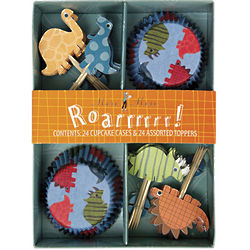 Dinosaur Party Cupcake Decorating Kit