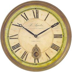 English Regency Wall Clock