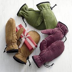 Sheepsuede Glitten Glove