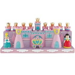 Pink Princess Castle Menorah