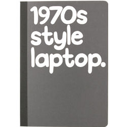 1970s Style Laptop Notebook
