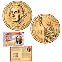 George Washington Commemorative Presidential $1 Coin