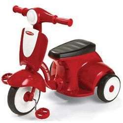Radio Flyer Classic Lights Sound Red Trike