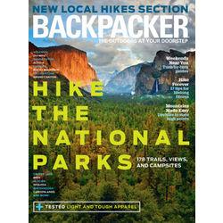 Backpacker Magazine Subscription 9 Issues Seasonally