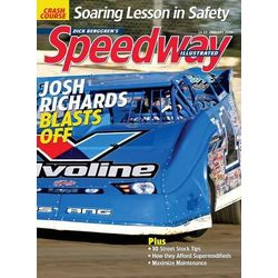 Speedway Illustrated Magazine Subscription 12 Issues Monthly