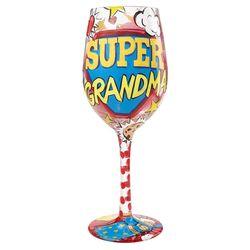 Super Grandma Wine Glass