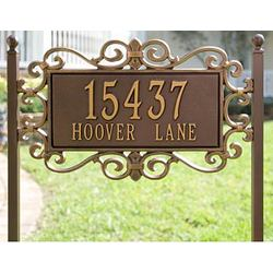 Mears Fretwork Lawn Plaque