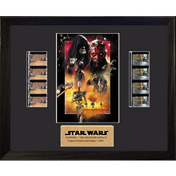 Star Wars The Phantom Menace Limited Edition Double Film Cell