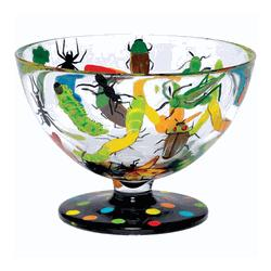 Buggin Out Hand-Painted Ice Cream Bowl
