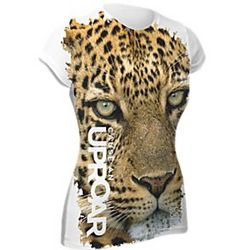 Women's Leopard ''Cause An Uproar'' Shirt