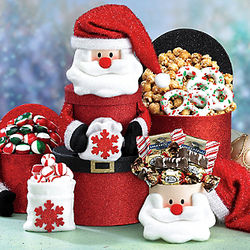 Santa Claus Tower of Treats