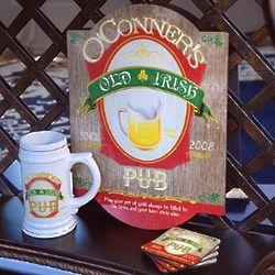 The Ultimate Personalized Irish Tavern Gift Set