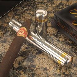 Gold Rim Cigar Holder