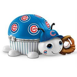 Chicago Cubs Love Bug Porcelain Music Box